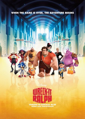 Wreck-It Ralph - Movie Poster (thumbnail)