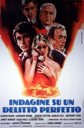 Indagine su un delitto perfetto - Italian Movie Poster (thumbnail)