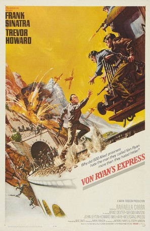 Von Ryan's Express - Movie Poster (thumbnail)