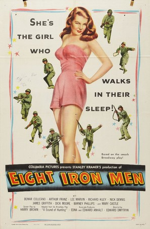Eight Iron Men - Movie Poster (thumbnail)