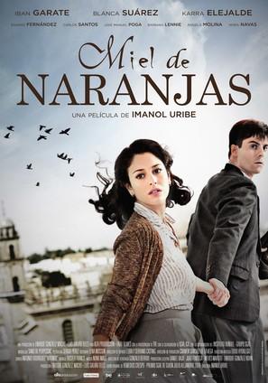 Miel de naranjas - Spanish Movie Poster (thumbnail)