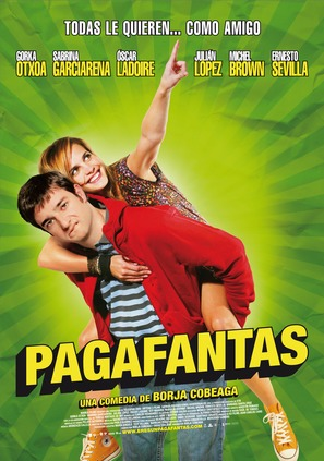 Pagafantas - Spanish Movie Poster (thumbnail)