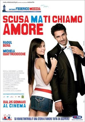 Scusa ma ti chiamo amore - Italian Movie Poster (thumbnail)