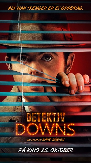 Detektiv Downs - Norwegian Movie Poster (thumbnail)