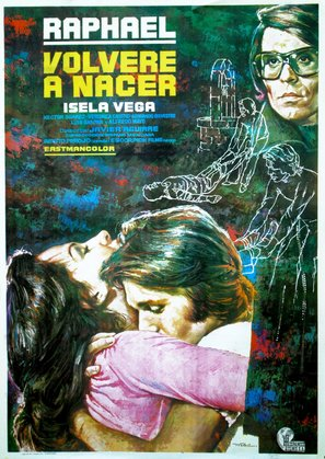 Volveré a nacer - Spanish Movie Poster (thumbnail)