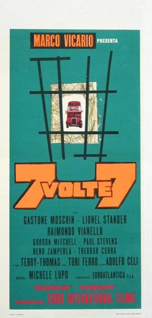 Sette volte sette - Italian Theatrical poster (thumbnail)