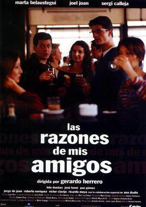 Las razones de mis amigos - Spanish poster (thumbnail)