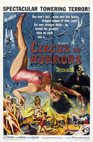 Circus of Horrors - Movie Poster (thumbnail)