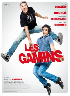 Les gamins - French Movie Poster (thumbnail)
