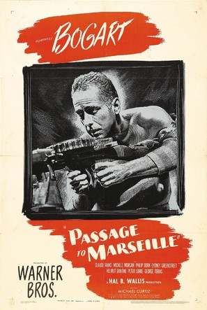 Passage to Marseille - Movie Poster (thumbnail)
