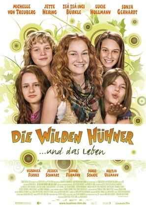 Wilden Hühner und das Leben, Die - German Movie Poster (thumbnail)