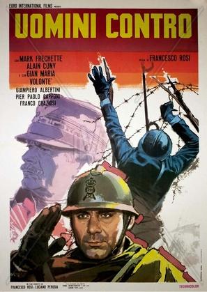 Uomini contro - Italian Movie Poster (thumbnail)