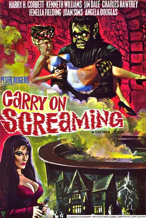 Carry on Screaming! - Movie Poster (thumbnail)