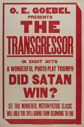 The Transgressor - Movie Poster (thumbnail)
