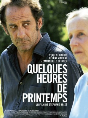 Quelques heures de printemps - French Movie Poster (thumbnail)