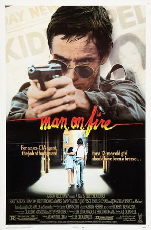 Man on Fire - Movie Poster (thumbnail)