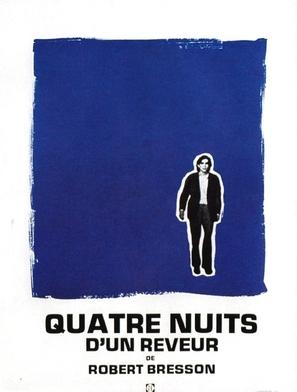 Quatre nuits d'un rêveur - French Movie Poster (thumbnail)