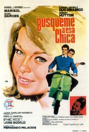 Búsqueme a esa chica - Spanish Movie Poster (thumbnail)