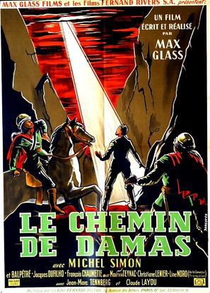 Le chemin de Damas - French Movie Poster (thumbnail)