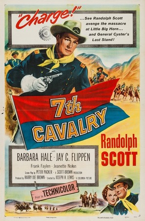 7th Cavalry - Canadian Movie Poster (thumbnail)