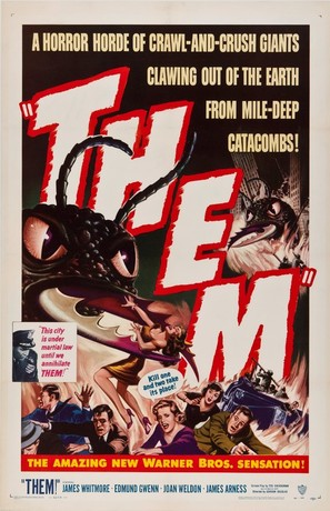 Them! - Theatrical movie poster (thumbnail)