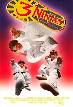 3 Ninjas Knuckle Up - Movie Poster (thumbnail)