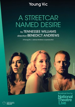 National Theatre Live: A Streetcar Named Desire - British Movie Poster (thumbnail)