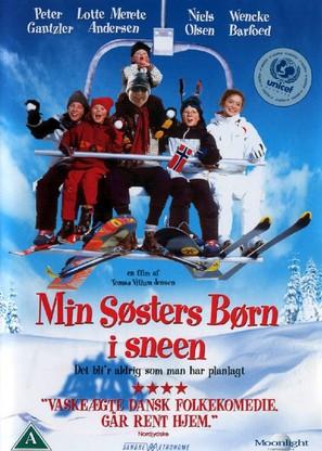 Min søsters børn i sneen - Danish DVD cover (thumbnail)