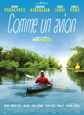 Comme un avion - French Movie Poster (thumbnail)