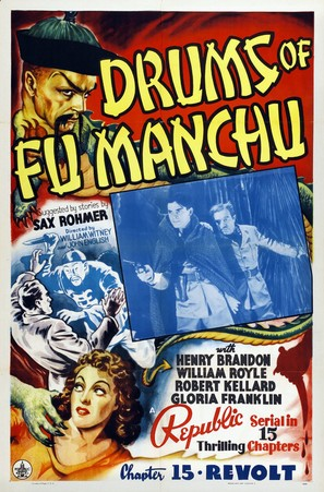 Drums of Fu Manchu - Movie Poster (thumbnail)