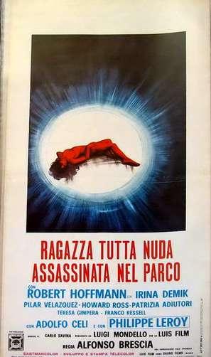 Ragazza tutta nuda assassinata nel parco - Italian Movie Poster (thumbnail)
