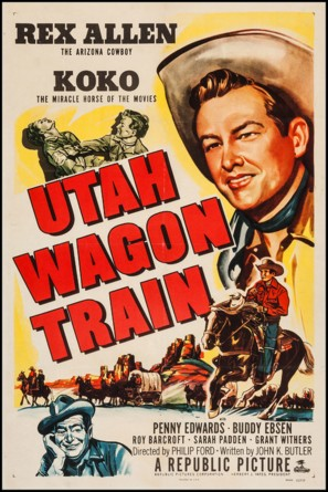 Utah Wagon Train - Movie Poster (thumbnail)