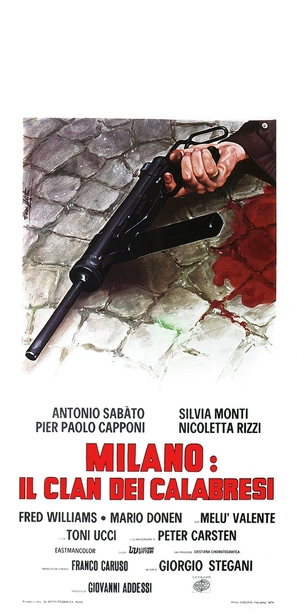 Milano: il clan dei Calabresi - Italian Movie Poster (thumbnail)