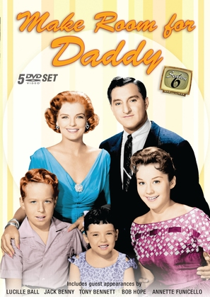 """Make Room for Daddy"" - DVD movie cover (thumbnail)"