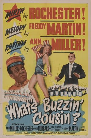 What's Buzzin', Cousin? - Movie Poster (thumbnail)