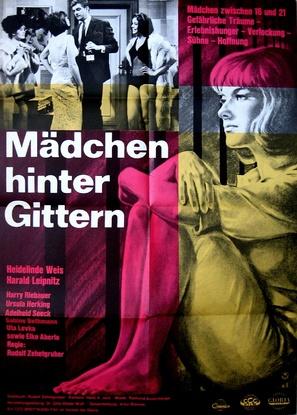 Mädchen hinter Gittern - German Movie Poster (thumbnail)