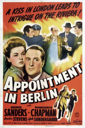 Appointment in Berlin - Movie Poster (thumbnail)
