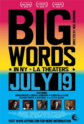 Big Words - Movie Poster (thumbnail)