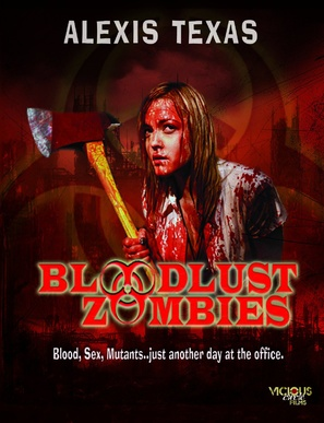 Bloodlust Zombies - Movie Poster (thumbnail)