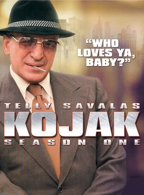 """Kojak"" - DVD movie cover (thumbnail)"