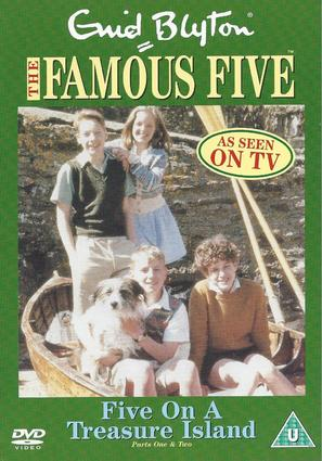 """""""The Famous Five"""" - British DVD movie cover (thumbnail)"""