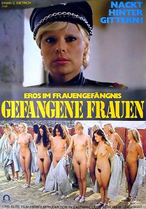 Gefangene Frauen - German Movie Poster (thumbnail)