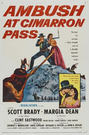 Ambush at Cimarron Pass - Movie Poster (thumbnail)