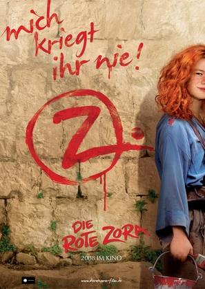 Rote Zora, Die - German poster (thumbnail)