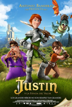 Justin and the Knights of Valour - Spanish Movie Poster (thumbnail)