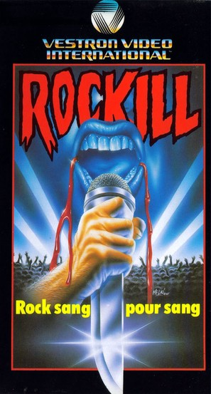 Rocktober Blood - French VHS movie cover (thumbnail)