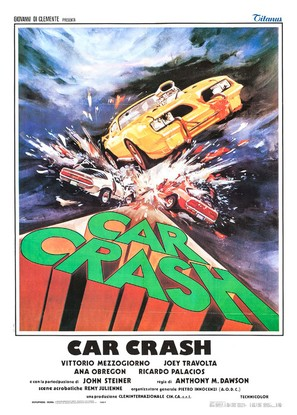 Car Crash - Italian Movie Poster (thumbnail)