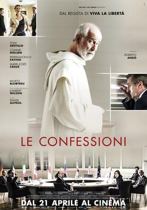 Le confessioni - Italian Movie Poster (thumbnail)