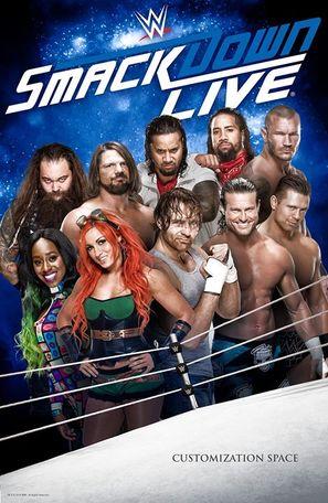 """""""WWF SmackDown!"""" - Movie Poster (thumbnail)"""