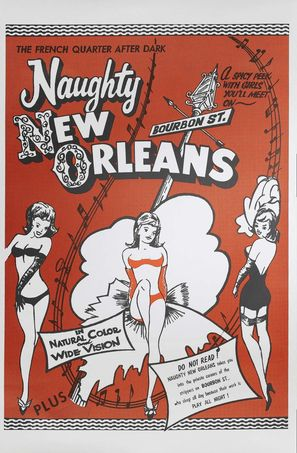 Naughty New Orleans - Movie Poster (thumbnail)
